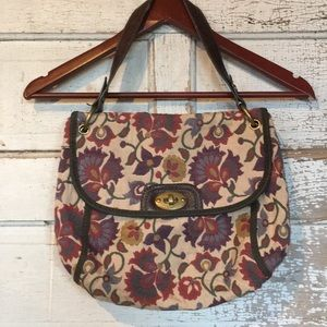 Retro Fossil Tapestry Bag
